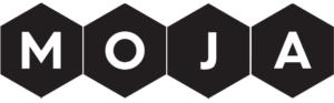 Horizontal moja cafe logo